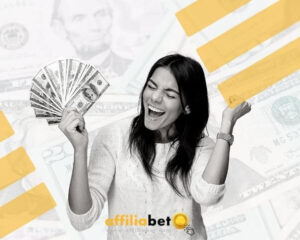 mujer con dinero de las comisiones cpa