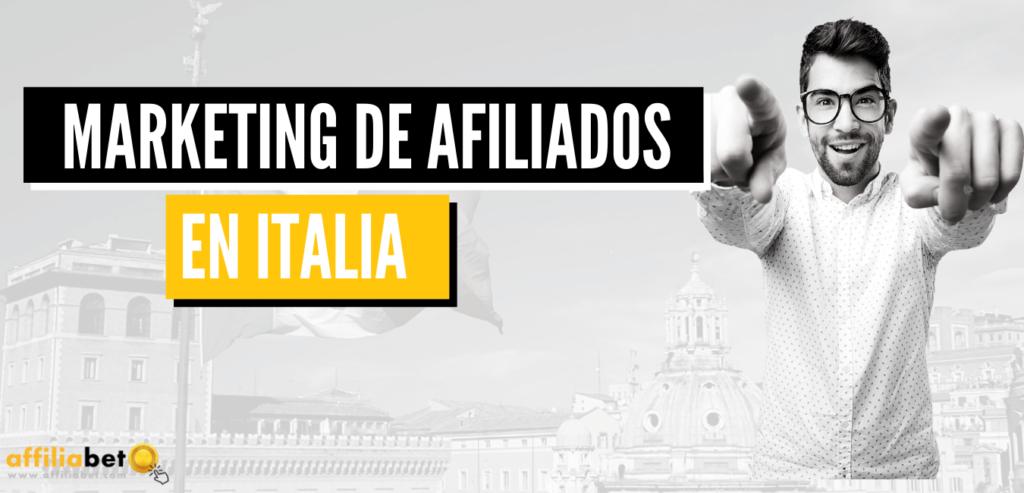 El marketing de afiliados en Italia